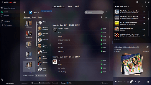Audials Music- free Spotify music downloader