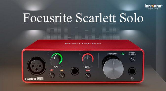 Download Focusrite Scarlett Solo Drive