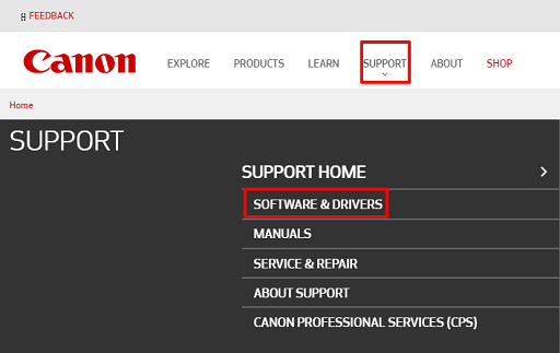 Download the scanner driver from the manufacturer's website
