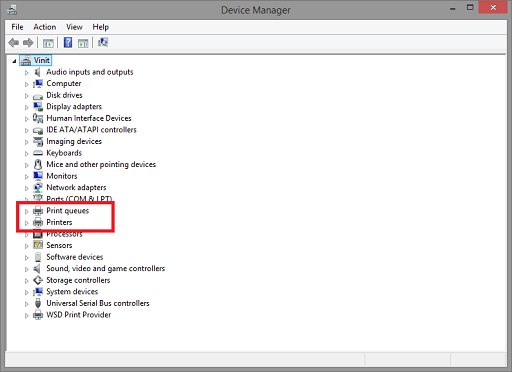 Update canon pixma mg2522 Manually through the Device Manager