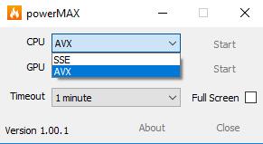 CPUID powerMAX