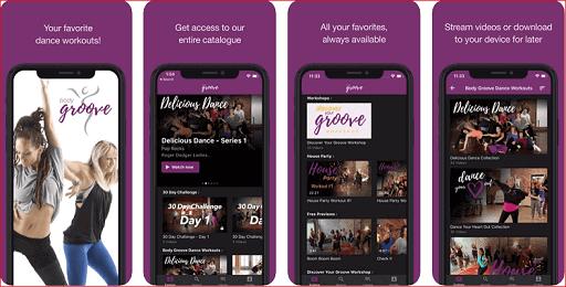 Body-Groove zumba app