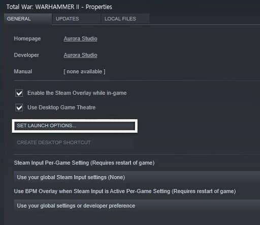 Consider DirectX 11 to Run Total War Warhammer 2 -set launch options