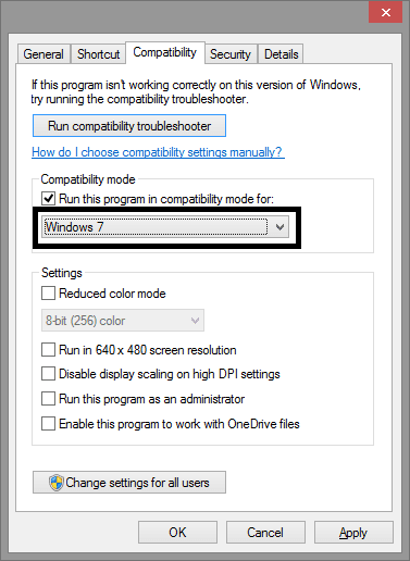 Change the Compatibility Settings of Total War Warhammer 2 - windows 7