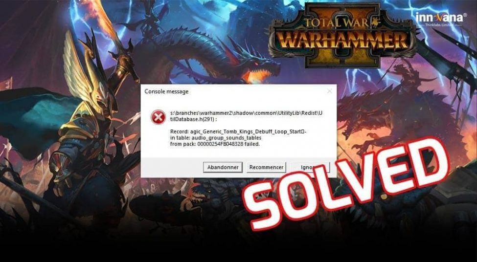 How to Fix Total War Warhammer 2 Crashing Issues on Windows 10   Solved