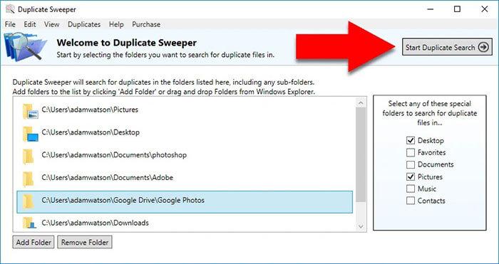 Duplicate-Sweeper