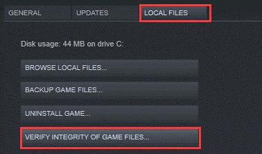 GTA 5 crash- verify intergrity of game files