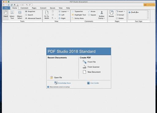 PDF Studio- scanner software for mac