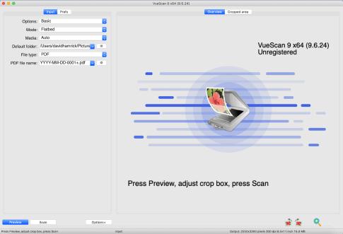 VueScan- best scanner software for mac