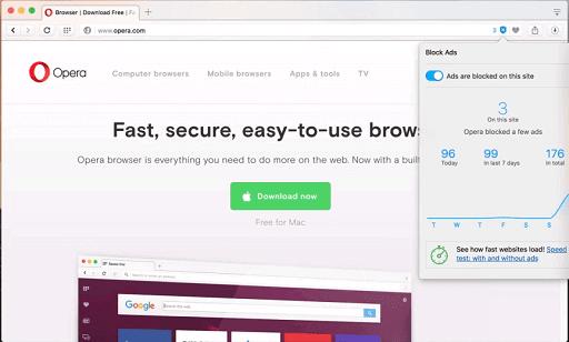 Opera Browser- Safari browser for Mac