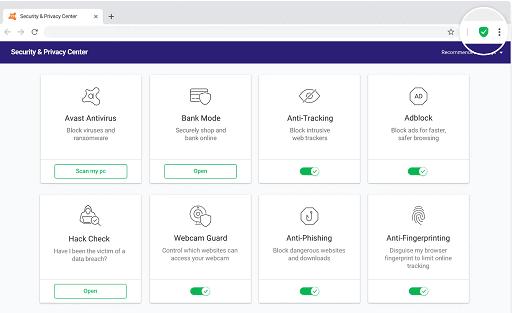 Avast Secure Browser- alternative browser for Safari