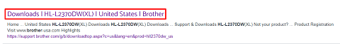Click on the search result- Brother HL-L2370DW