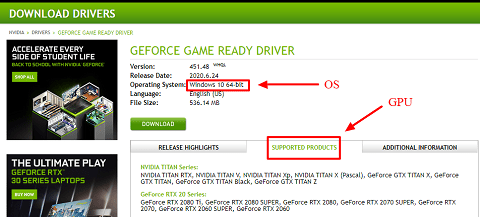 Download the Driver from the Official Website