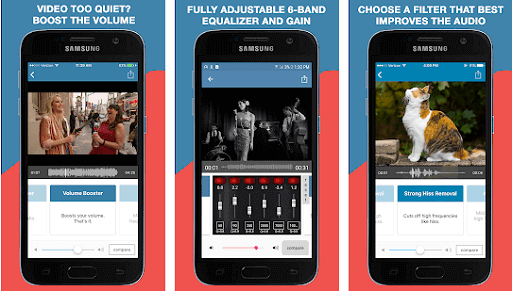 AudioFix For Videos - Video Volume Booster + EQ