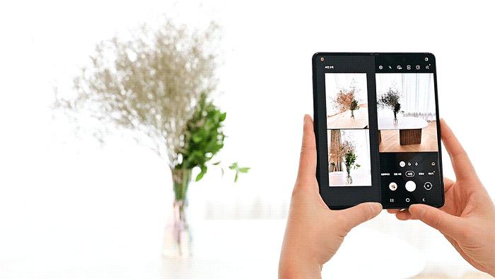 camera of the Samsung Galaxy Z Fold3 5G