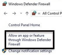 Check if the Antivirus or Firewall is Causing any Problem