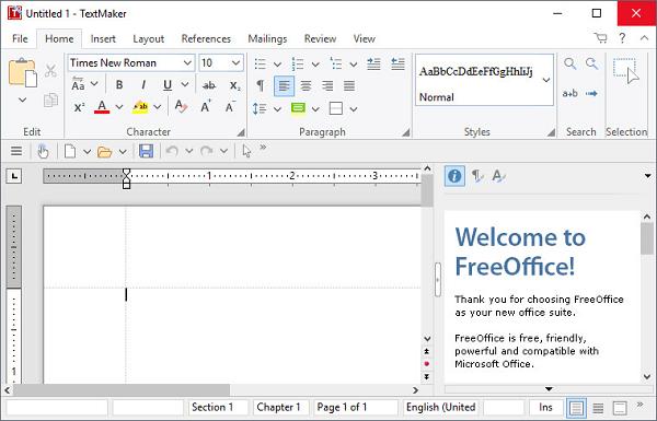 FreeOffice TextMaker
