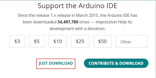 Arduino Nano driver- click on just download