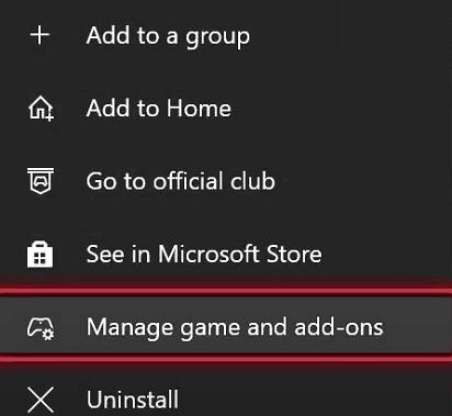 Remove saved game data