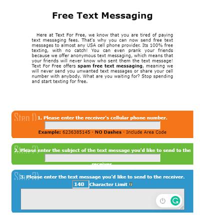 TextForFree.Net
