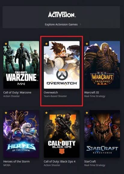 Repair the Game Files- select overwatch