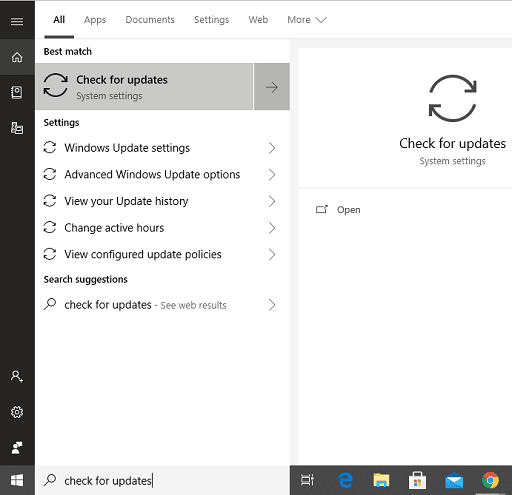 Update the Driver with Windows Update
