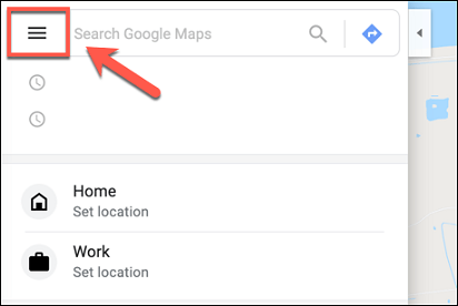 Viewing Google location history on Android- Launch google maps