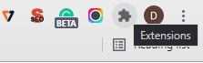 Turn Off the Google Chrome Extensions