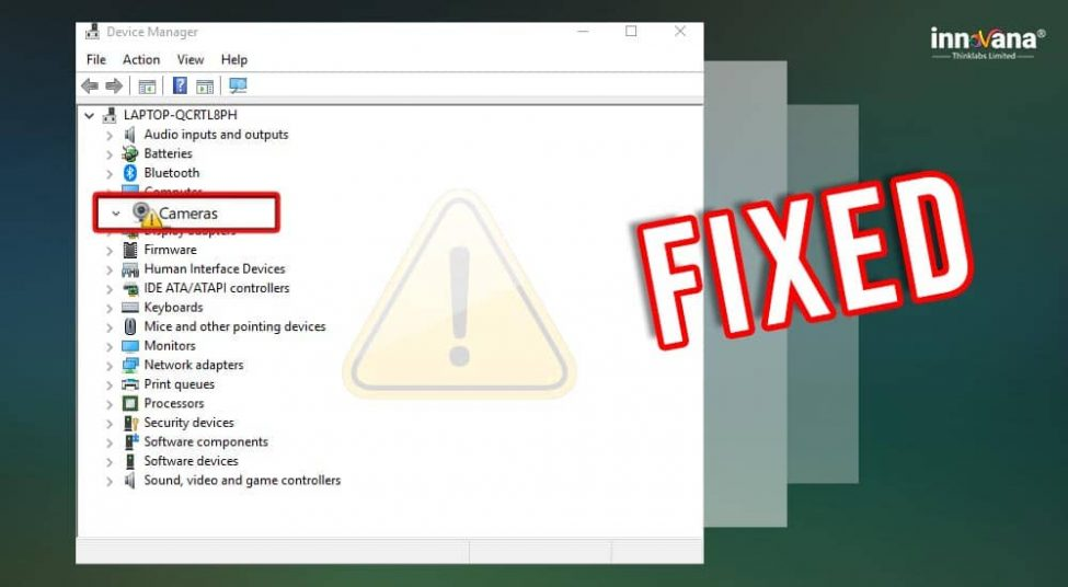 How to Fix Camera Missing in Device Manager Quickly