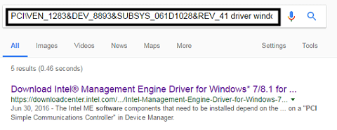 """Open your browser and then paste ID, add """"driver"""""""