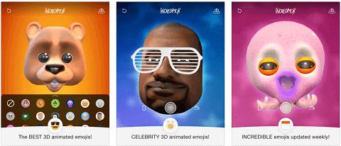 Incredimoji Celebrity Face Swap
