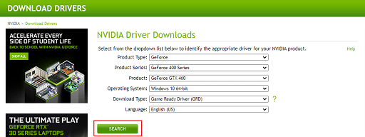 Download nvidia geforce gtx driver from official website