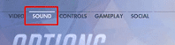 Change the Game Settings- click on sound
