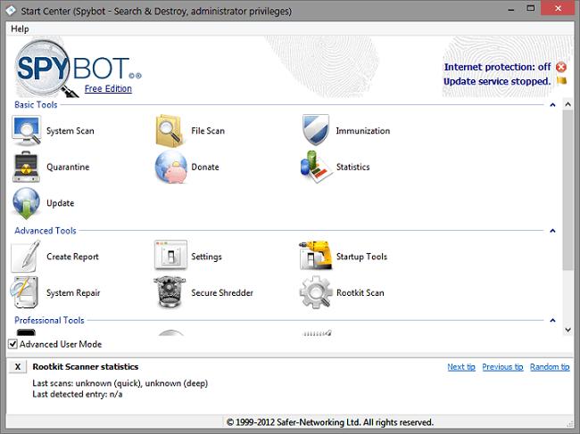 Spybot – Search & Destroy Portable